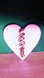 Coeur de fourrure Image stock