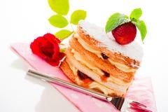Coeur de gâteau Image stock