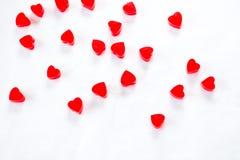 Coeur de gelée Images libres de droits