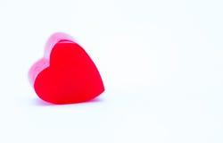 Coeur de gelée Images stock