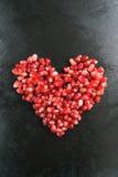 Coeur de grenade Image stock
