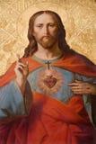 Coeur de Jésus-Christ photo stock