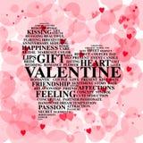 coeur de jour de valentine Photographie stock libre de droits