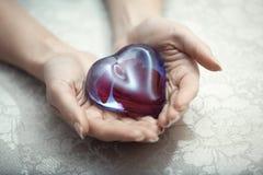 Coeur de l'amour Image libre de droits