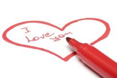 Coeur de l'amour Photographie stock