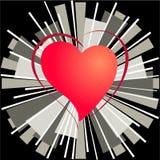 Coeur de l'amour Photographie stock libre de droits
