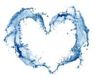 Coeur de l'eau Image libre de droits