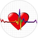 Coeur de l'homosexuel illustration stock