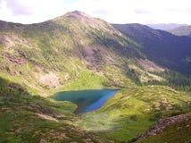 Coeur de lac Image libre de droits