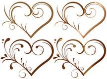 Coeur de Lase Images stock