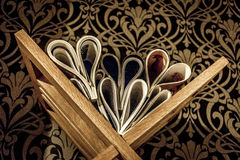Coeur de livre Photographie stock libre de droits