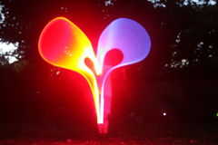 Coeur de lumière Photos libres de droits