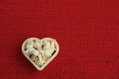 Coeur de maïs de bruit Image stock