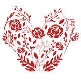 Coeur de nature illustration stock