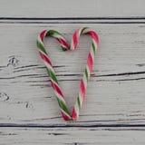 coeur de Noël joyeux Images stock