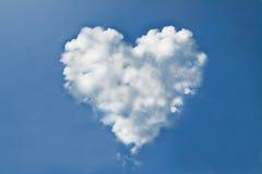Coeur de nuage Photos libres de droits