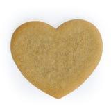coeur de pain d'épice Photo libre de droits