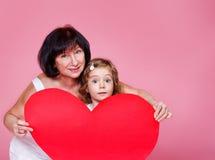 Coeur de papier Image stock