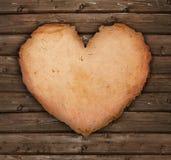Coeur de papier Images libres de droits