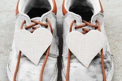 Coeur de papier de couples Images stock