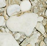 Coeur de pierre photographie stock libre de droits