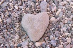 Coeur de pierre photos stock