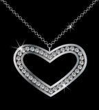 Coeur de Platinu Image stock