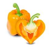 Coeur de poivre Image libre de droits