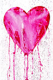 Coeur de purge Photographie stock libre de droits