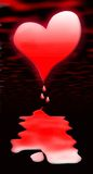 Coeur de purge Photos libres de droits