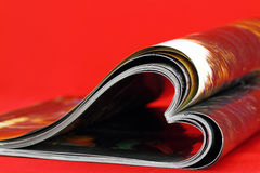 Coeur de revue Photos libres de droits