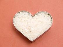 Coeur de riz Images stock