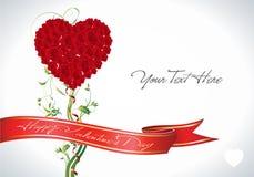 Coeur de Rose Images stock