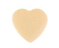 Coeur de sablé. Photographie stock libre de droits
