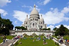 Coeur de Sacre em Paris Foto de Stock