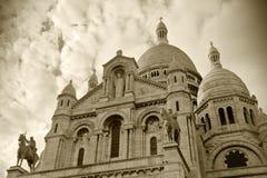 Coeur de Sacre en Montmartre Foto de archivo libre de regalías