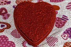 Coeur de Saint-Valentin Photos libres de droits