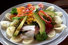 Coeur de salade de paume Photographie stock libre de droits