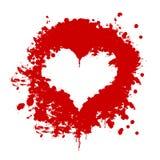 Coeur de sang Image stock