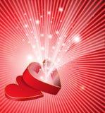 Coeur de scintillement illustration de vecteur