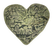 Coeur de Shamanic illustration de vecteur