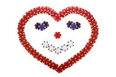 Coeur de sourire Photo libre de droits