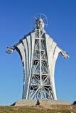 Coeur de statue de J?sus-Christ Photos stock