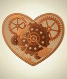 Coeur de Steampunk illustration libre de droits