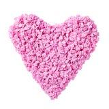 Coeur de sucrerie Image stock