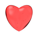 Coeur de sucrerie Photo stock