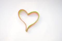 Coeur de sucrerie Photo libre de droits