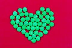 Coeur de sucrerie pour des valentines Images stock