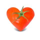 Coeur de tomate Image stock