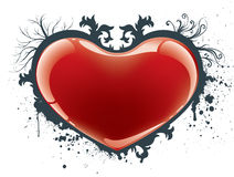 Coeur de Valentine illustration stock